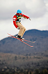 19 January 2008: Veronika Bauer from Canada takes a practice jump prior the FIS World Cup Freestyle Ladies' Aerial Competition at the MacKenzie Ski Jump Complex in Lake Placid, New York, USA...Mandatory Photo Credit: Ed Wolfstein Photo