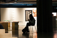 """SÃO PAULO - SP - 22,10,2014 -CCSP - UMA MODERNIDADE PARALELA - Entra em cartaz no Centro Cultural São Paulo a exposição """"Uma Modernidade Paralela"""".Explora características e peculiaridades da arquitetura soviética do período entre anos 50 até os anos 90 com o fim da república socialista,em 1991.Na noite dessa Quarta-Feira,22(Foto:Kevin David/Brazil Photo Press)"""