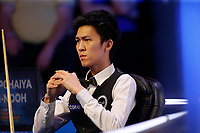 26th February 2020; Waterfront, Southport, Merseyside, England; World Snooker Championship, Coral Players Championship; Thepchaiya Un-Nooh (THA) looks on during his first round match against Mark Allen (ENG)