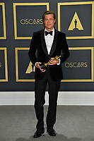 LOS ANGELES, USA. February 09, 2020: Brad Pitt at the 92nd Academy Awards at the Dolby Theatre.<br /> Picture: Paul Smith/Featureflash