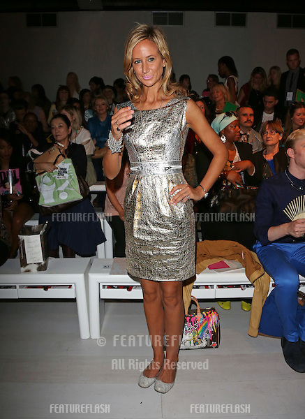 Lady Victoria Hervey at the Jasper Conran catwalk show as part of London Fashion Week SS13, Somerset House, London.14/09/2012 Picture by: Henry Harris / Featureflash