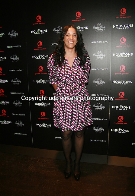 Steph Lova Attends The Houstons: On Our Own premiere party celebrating the launch of the new Lifetime docuseries held at Tribeca Grand Hotel, NY  10/22/12