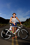 ST. GEORGE, UT - APRIL 29:  Professional Triathlete Sebastian Kienle poses for photos during a cover shoot for LAVA Magazine on April 29, 2012 in St. George, Utah.(Photo by Donald Miralle for LAVA Magazine)  *** Local Caption ***