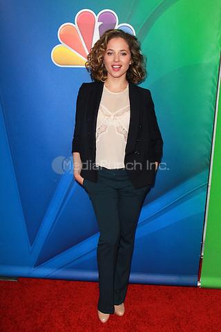 PASADENA, CA - JANUARY 16: Margarita Levieva at NBCUniversal's 2015 Winter TCA Tour - Day 2 at The Langham Huntington Hotel and Spa on January 16, 2015 in Pasadena, California. Credit: David Edwards/DailyCeleb/MediaPunch