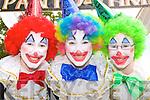 Caragh, Alana and Caoimhe O'Connor Killorglin who participated in the Coronation parade at Puck fair on Monday
