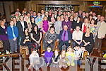 Dermot Doyle The Park Killarney seated centre celebrates his retirement from Liebheer Fossa with family, friends and colleagues in the Brehon Hotel Killarney on Friday night