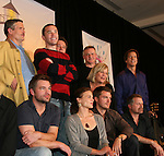 "Daniel Cosgrove ""Billy Lewis"" with dad behind him ""Bill Lewis"" Jordan Clarke - So Long Springfield Event - Guiding Light actors - Kim Zimmer, Gina Tognoni along with GL director Adam Reist and the rest of the GL cast members Robert Newman, Bradley Cole, Jordan Clarke, Frank Dicopoulos, Jeff Branson, Tom Pelphrey, Grant Aleksander, Ron Raines come to see fans at the Hyatt Regency in Pittsburgh, PA. during the weekend of October 24 and 25, 2009. (Photo by Sue Coflin/Max Photos)"