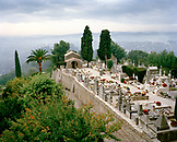 FRANCE, cemetery surrounded with trees, Saint-Paul de Vence