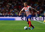 Atletico de Madrid's Saul Ñiguez during La Liga match. Aug 18, 2019. (ALTERPHOTOS/Manu R.B.)Atletico de Madrid's Saul Ñiguez  during the Spanish La Liga match between Atletico de Madrid and Getafe CF at Wanda Metropolitano Stadium in Madrid, Spain