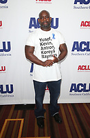 7 June 2019 - Los Angeles, California - Antron McCay. ACLU SoCal's 25th Annual Luncheon  held at J.W. Marriott at LA Live. Photo Credit: Faye Sadou/AdMedia