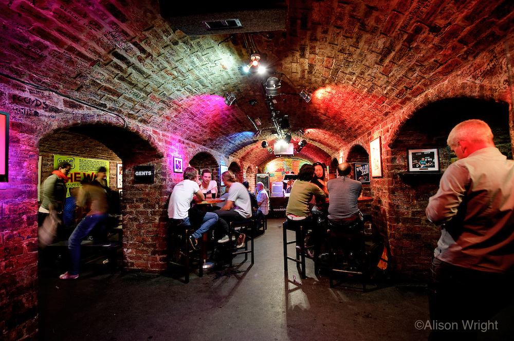 The Cavern nightclub in Liverpool, where the Beatles played 247 times.
