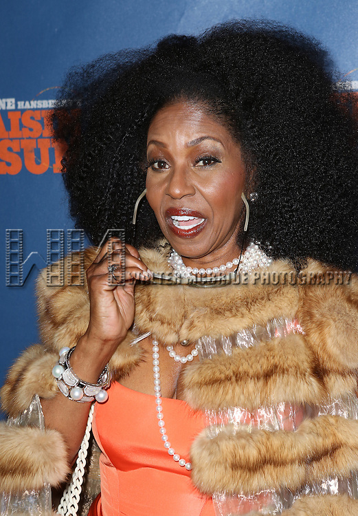 Pauletta Pearson Washington attending the Broadway Opening Night Performance of 'A Raisin In The Sun'  at the Barrymore Theatre on April 3, 2014 in New York City.