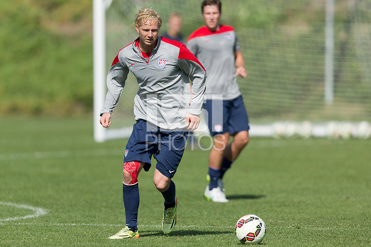 Carson, CA. - Monday, February 2, 2015: USMNT Training at StubHub Center.