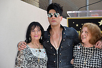 Criss Angel &amp; mother Dimitra Sarantakos (left) &amp; aunt Stella at the Hollywood Walk of Fame Star Ceremony honoring illusionist Criss Angel. Hollywood Boulevard, Los Angeles, USA 20 July 2017<br /> Picture: Paul Smith/Featureflash/SilverHub 0208 004 5359 sales@silverhubmedia.com