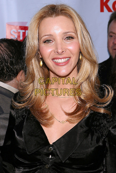 LISA KUDROW .First Annual Streamy Awards Honoring Excellence in Original, Professionally Produced Web Television Programming held at the Wadsworth Theatre, Los Angeles, California, USA..March 28th, 2009.headshot portrait black .CAP/ADM/TC.©T. Conrad/AdMedia/Capital Pictures.