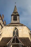 France, Calvados (14), Côte Fleurie, Honfleur, le musée de la Marine, installé dans l'ancienne église Saint-Etienne, sur le   Vieux-Bassin //   France, Calvados, Côte Fleurie, Honfleur, Marine Museum on the Old Basin)