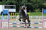 Class 3. 55cm. Unaffiliated showjumping. Brook Farm Training Centre. Essex. 06/08/2017. MANDATORY Credit Garry Bowden/Sportinpictures - NO UNAUTHORISED USE - 07837 394578