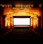 The historic Egyptian Theater in Boise, Idaho