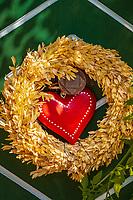 Oesterreich, Oberoesterreich, Salzkammergut, Gruenau im Almtal: Gasthof Jagersimmerl - Dekoration | Austria, Upper Austria, Salzkammergut, Gruenau im Almtal: hotel and restaurant Jagersimmerl - decoration