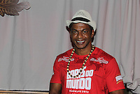 SAO PAULO, SP, 24 DE FEVEREIRO 2012 - CAMAROTE BAR BRAHMA - O ator Nill Marcondes e visto no Camarote Bar Brahma, na noite do Desfile das Campeas do Carnaval de Sao Paulo, na noite desta sexta, 24 no Sambodromo do Anhembi regiao norte da capital paulista. (FOTO: MILENE CARDOSO - BRAZIL PHOTO PRESS).