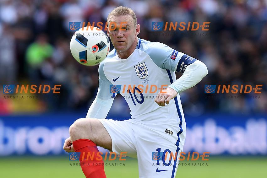 Wayne Rooney England <br /> Lens 16-06-2016 Stade Bollaert-Delelis Footballl Euro2016 England - Wales / Inghilterra - Galles Group Stage Group B. Foto Matteo Gribaudi / Image Sport / Insidefoto