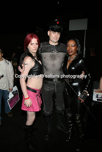 MORDONA,MASTER JEFF AND MISTRESS C Attend EXXXOTICA 2013 Held At Te Taj Mahal Atlantic City, NJ