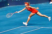 MADRI, ESPANHA, 07 DE MAIO DE 2012 - MUTUA MADRID OPEN -  A tenista russa Elena Vesnina (vermelho) enfrenta a norte-americana Serena Williams (azul), durante o Mutua Madrid Open 2012, em Madrid na capital da Espanha, nesta segunda-feira, 06. (FOTO: CESAR CEBOLLA / ALFAQUI / BRAZIL PHOTO PRESS).