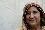 Pakistani woman in Punjab village...