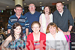 GREYHOUND FUN: Having great fun at the Kingdom Greyhound Stadium Night at the Dogs on Friday seated l-r: Aoife Sheehy, Peggy Kerrisk and Brid O'Donnell. Back l-r: Austin Ward, D J Slattery, Nora Moriarty and Dylan Foley.