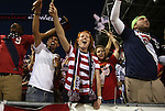 11 September 2012: U.S. fans. The United States Men's National Team defeated the Jamaica Men's National Team 1-0 at Columbus Crew Stadium in Columbus, Ohio in a CONCACAF Third Round World Cup Qualifying match for the FIFA 2014 Brazil World Cup.