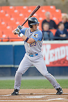 Owings, Jon Mark 1396.jpg. Carolina League Myrtle Beach Pelicans at the Frederick Keys at Harry Grove Stadium on May 13th 2009 in Frederick, Maryland. Photo by Andrew Woolley.