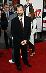 """HOLLYWOOD, CA. - April 14: Judd Apatow arrives at the premiere of Warner Bros. """"17 Again"""" held at Grauman's Chinese Theatre on April 14, 2009 in Hollywood, California."""