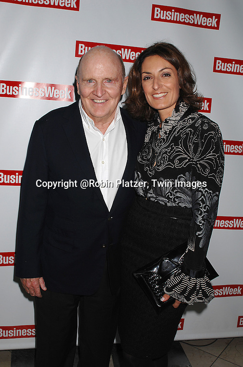 "Jack Welch and wife Suzy..at The BusinessWeek  party to celebrate the relaunch of the magazine on October 11, 2007 at..Guastavinos in New York City. The party celebrated ""What's Next"" in various industries and businesses.....Robin Platzer, Twin Images....212-935-0770"