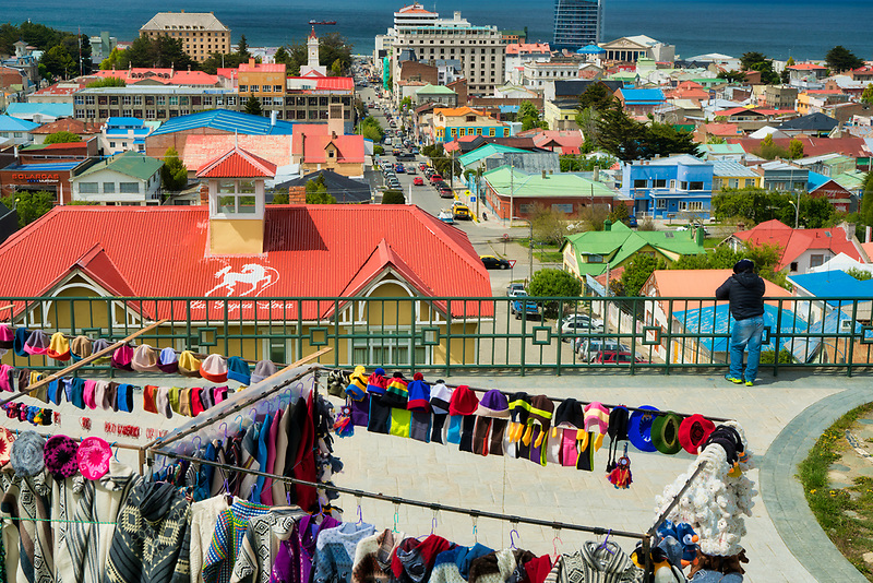 View of Punta Arenas city. Chile