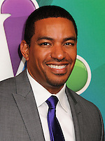 NEW YORK CITY, NY, USA - MAY 12: Laz Alonso at the 2014 NBC Upfront Presentation held at the Jacob K. Javits Convention Center on May 12, 2014 in New York City, New York, United States. (Photo by Celebrity Monitor)