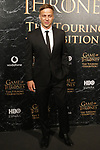 Tom Wlaschiha. the great exhibition of game of thrones begins his world-wide tour in barcelona.26th October, Barcelona.
