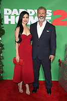 WESTWOOD, CA - NOVEMBER 5: Rosalind Ross and Mel Gibson at the premiere of Daddy's Home 2 at the Regency Village Theater in Westwood, California on November 5, 2017. <br /> CAP/MPI/FS<br /> &copy;FS/MPI/Capital Pictures