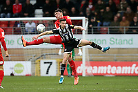 Grimsby's Max Wright & Dan Happe during Leyton Orient vs Grimsby Town, Sky Bet EFL League 2 Football at The Breyer Group Stadium on 11th January 2020