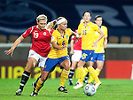 Sara Thunebro, Ingvild Stensland, QF, Sweden-Norway, Women's EURO 2009 in Finland, 09042009, Helsinki Football Stadium.