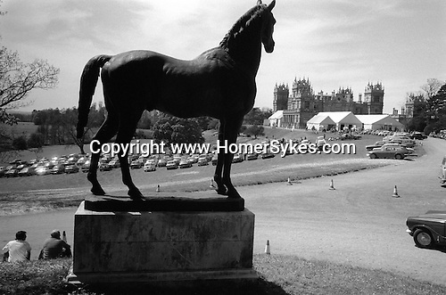 Sothebys auction house sale at Mentmore Towers. Buckinghamshire England 1977.<br />