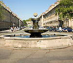 Fountain, Great Pulteney Street, Bath