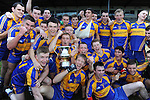 13-08-2014 : Kenmare District celebrate after winning the  Kerry U-21 football Championship final at Fitzgerald Stadium, Killarney,  on Wednesday night. Picture: Eamonn Keogh (MacMonagle, Killarney)