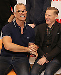 Jerry Mitchell and Bryan Adams attends the photo call for the New Broadway Bound Musical 'Pretty Woman' on January 22, 2018 at the New 42nd Street Studios in New York City.
