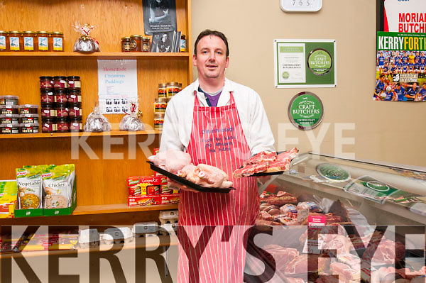 Paudie Moriarty Butchers, Dingle.