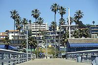 San Clemente Pier Circa 1982