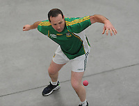20th September 2014; <br /> M Donnelly All-Ireland Mens Senior 60x30 Handball Doubles Final<br /> Tom Sheridan &amp; Brian Carroll (Meath) v Ducksy Walsh &amp; Ciaran Neary (Kilkenny) <br /> Abbeylara, Co Longford<br /> Picture credit: Tommy Grealy/actionshots.ie