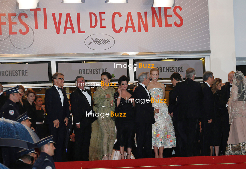 CPE/Jury members attend the Opening Ceremony and 'The Great Gatsby' Premiere during the 66th Annual Cannes Film Festival at the Theatre Lumiere on May 15, 2013 in Cannes, France.