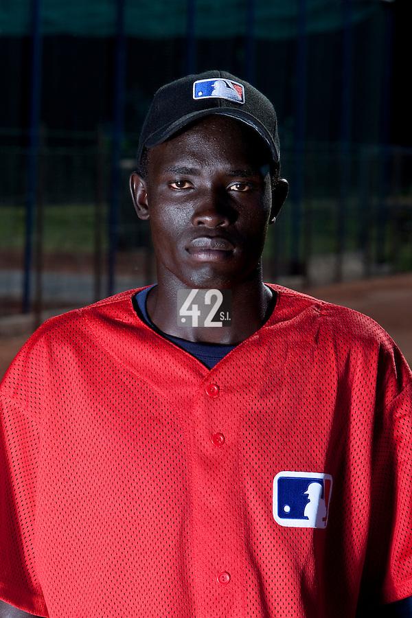 Baseball - MLB European Academy - Tirrenia (Italy) - 20/08/2009 - Adei Benard (Uganda)