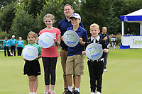 Junior golf Open winners at the end of Sunday's Final Round of the Northern Ireland Open 2018 presented by Modest Golf held at Galgorm Castle Golf Club, Ballymena, Northern Ireland. 19th August 2018.<br /> Picture: Eoin Clarke | Golffile<br /> <br /> <br /> All photos usage must carry mandatory copyright credit (&copy; Golffile | Eoin Clarke)