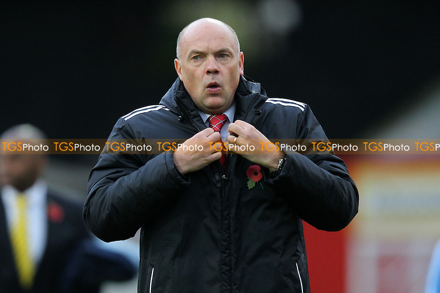 Brentford manager Uwe Rosler - Brentford vs Staines Town - FA Challenge Cup 1st Round Proper Round Football at Griffin Park, London - 09/11/13 - MANDATORY CREDIT: Gavin Ellis/TGSPHOTO - Self billing applies where appropriate - 0845 094 6026 - contact@tgsphoto.co.uk - NO UNPAID USE